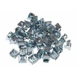 M5 Cage Nuts for Server Rack Cabinets - Rack nuts (pack of 50 ) - Rack nuts (pack of 50) - for P/N: RKPW161915, 4POSTRACK25, 2POSTRACK, RK2236BKF, RK1219WALL, RK1219WALH, RK4242BKNS
