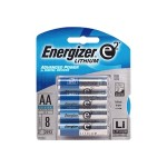 Ultimate Lithium - Battery 8 x AA type Li 2900 mAh - silver