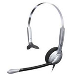 SH 330 Over-the-Head, Single-Sided Headset - Silver