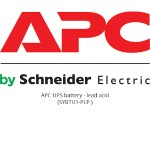 APC UPS battery lead acid - black SYBTU1-PLP