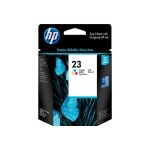 HP Inc. 23 Tri-color Inkjet Print Cartridge C1823D