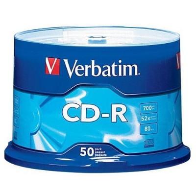 Verbatim700 MB 52x CD-R (50 pack)(94691 )