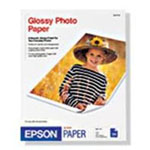 Epson 4 x 6 inch Photo Paper Glossy, with micro perforated borders - 50 Sheets S041671