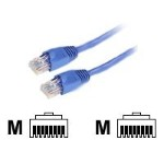 Purple, 3-ft. (0.9-m) GigaBase 350 CAT5e Patch Cables with Snagless Boots, 350-MHz, 24 AWG, RJ-45, 4-Pair, T568B, PVC