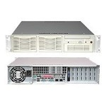 2u Rackmount Xeon-dp Barebone Server with 550w Power supply
