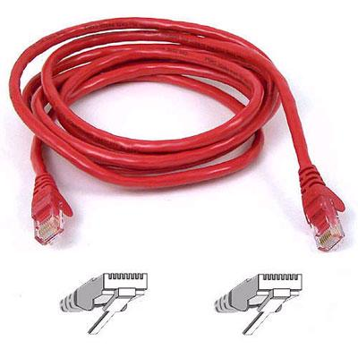 Belkin 40 ft. High Performance Category 6 Snagless Patch Cable, Red (A3L980-40-RED-S )