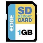Edge Memory Digital Media - Flash memory card - 1 GB - SD - for Aiptek Pocket DV 5900; Canon ZR50; Casio EXILIM-EX-S2; HP iPAQ hw6500; PhotoSmart 425 PE197230