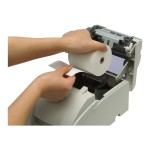 TM U220B - Receipt printer - two-color (monochrome) - dot-matrix - Roll (3 in) - 17.8 cpi - 9 pin - up to 6 lines/sec - capacity: 1 roll - serial