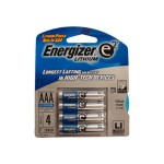 Energizer e2 L92BP - Battery 4 x AAA Li L92BP-4