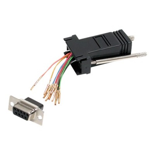 StarTech DB9 to RJ45 Modular Adapter - serial adapter