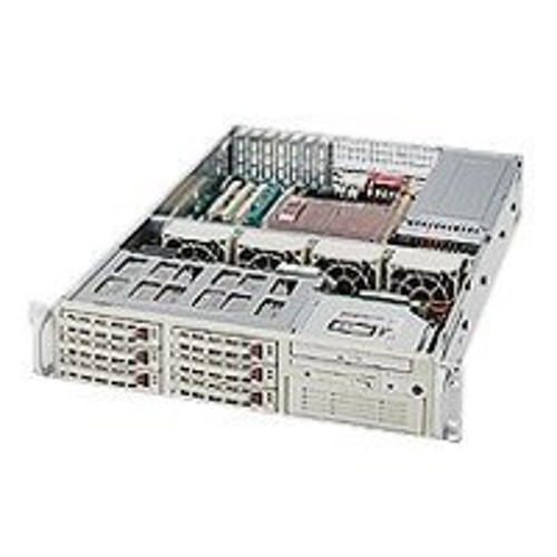 Super Micro Supermicro SC823 T-550LP - rack-mountable - 2U - extended ATX