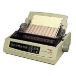 Oki Microline 391 Turbo/n - Printer - monochrome - dot-matrix - Roll (16 in) - 360 dpi - 24 pin - up to 390 char/sec - parallel, LAN 62416001