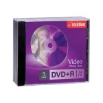 DVD+R 4.7GB 16x 5 Pack