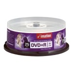 Imation 25 x DVD+R - 4.7 GB 16x - spindle 17194