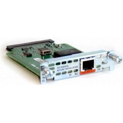 Cisco 1 Port Isdn Wan Interface Card For Cisco 1700 Wic 1B S T V3