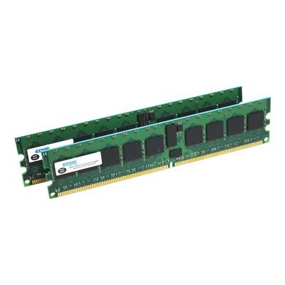 Edge Memory 4GB PC2-3200 DDR2 SDRAM DIMM Kit (2x 2GB) Registered ECC 400MHz 240-pin (PE19983802 )