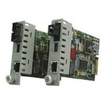 iConverter GX/T - Fiber media converter - GigE - 10Base-T, 1000Base-LX, 100Base-TX, 1000Base-T - RJ-45 / SC single-mode - up to 21.1 miles - 1310 nm