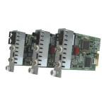 iConverter T3/E3 Coax Dual-Fiber - Media converter - BNC / ST single-mode - up to 37.3 miles - T-3/E-3 - 1310 nm