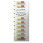 LTO3 Barcode Labels Series Horizontal 6 Character (000201-000400)