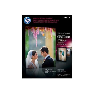 Premium Plus Photo Paper high gloss - 8.5 x 11 in (25 sheets)