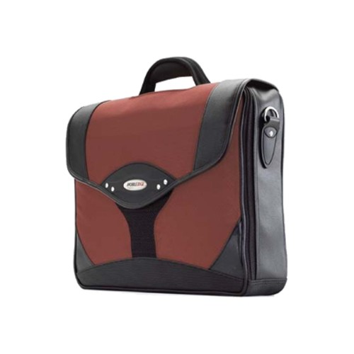 "Mobile Edge 15.6"" Select Briefcase - Dr. Pepper Red"