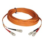 33ft Duplex Multimode 50/125 Fiber Optic Patch Cable SC-SC 10 meter