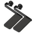 System mounting brackets - black (pack of 2) - for NetShelter SX