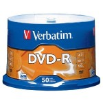 Verbatim 50Pack DVD-R 4.7GB 16X-Branded - Storage media 95101
