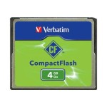 Flash memory card - 4 GB - CompactFlash - for P/N: 97705, 97706