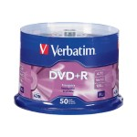 Verbatim 50Pack DVD+R 4.7GB 16X - Storage media 95037