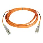 Duplex Multimode 62.5/125 Fiber Patch Cable (LC/LC), 15M (50-ft.)