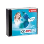 Imation High-Speed - 5 x CD-RW - 700 MB ( 80min ) 4x - 12x - jewel case 16950
