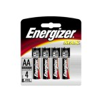 Energizer Max E91BP-4 - Battery 4 x AA alkaline E91BP-4