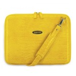 Mobile Edge Faux-Croc Techstyle Portfolio - notebook carrying case MEPFC4