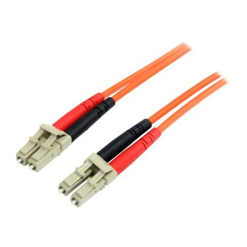 StarTech Multimode 62.5/125 Duplex Fiber Patch Cable LC - LC - network cable - 3.3 ft - orange