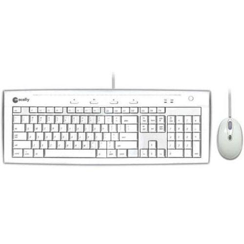 MacAlly Peripherals iKey Slim Combo Keyboard and Mouse