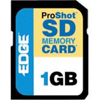 Edge Memory 1GB ProShot 60x Secure Digital (SD) Card (PE200534 )