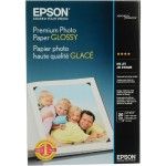 Premium Glossy Photo Paper - Glossy - Super B (13 in x 19 in) 20 sheet(s) photo paper - for Stylus Photo R2000; SureColor SC-P405, T5200, T7200; WorkForce 7010, 75XX, WF-7610, 7620