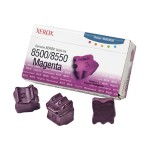 Genuine  - 3 - magenta - solid inks - for Phaser 8500DN, 8500N, 8550DP, 8550DT, 8550DX