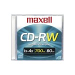 3 x CD-RW - 700 MB (80min) 1x - 4x - slim jewel case