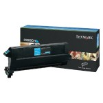 Cyan - original - toner cartridge LCCP - for C920, 920dn, 920dtn, 920n, 920tn