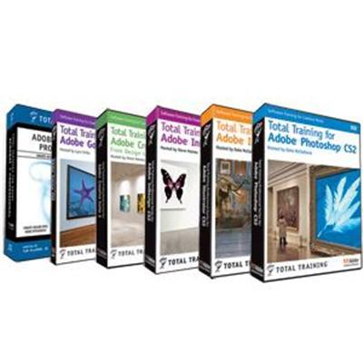 Total Trainingfor Creative Suite 2 Premium Bundle(1214153100 )