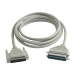 Cables To Go Parallel cable - DB-25 (M) to DB-25 (M) - 10 ft 06091