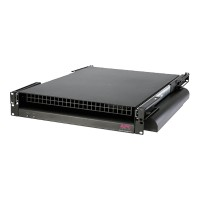 APC Rack Side Air Distribution 208/230V 50/60HZ - Fan unit - black - 2U - for P/N: AR3100, AR3150 ACF202BLK