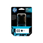 HP Inc. 02 Black Ink Cartridge C8721WN#140