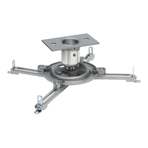 Peerless Vector Pro II with Universal Spider Adapter Plate-Silver Projector Mount