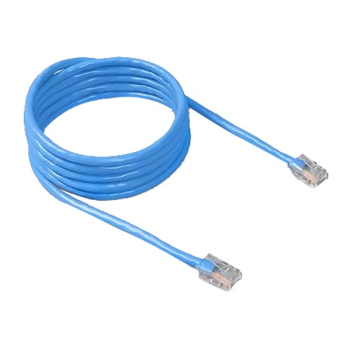 Belkin 7 Feet Cat5e Crimp Patch Cable, Blue