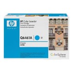 Color LaserJet Q6461A Cyan Print Cartridge with HP ColorSphere Toner