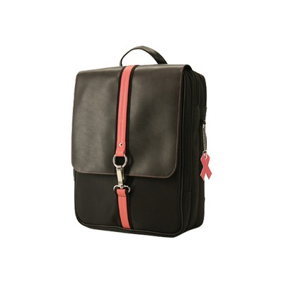 Mobile Edge The Komen Paris Backpack accommodates 15.4