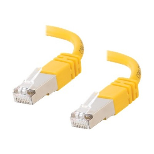 Cables To Go Cat5e Molded Shielded (STP) Network Patch Cable - patch cable - 7 ft - yellow